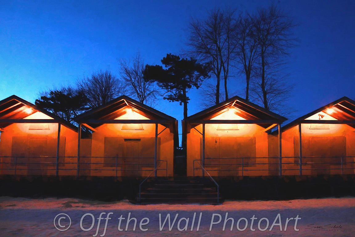Bath houses - West Beach - Beverly, MA