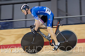 Men's Sprint Qualification. Canadian Track Championships, Mattamy National Cycling Centre, Milton, On, September 24, 2016