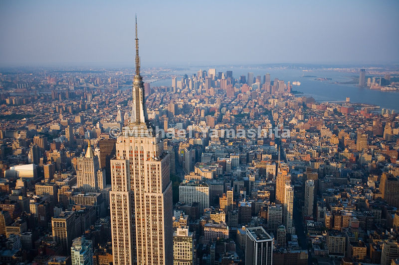 The Empire State Building remains the tallest in Manhattan, New York City.