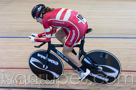 Women Individual Pursuit Final. Milton International Challenge, Mattamy National Cycling Centre, Milton, On, October 1, 2016