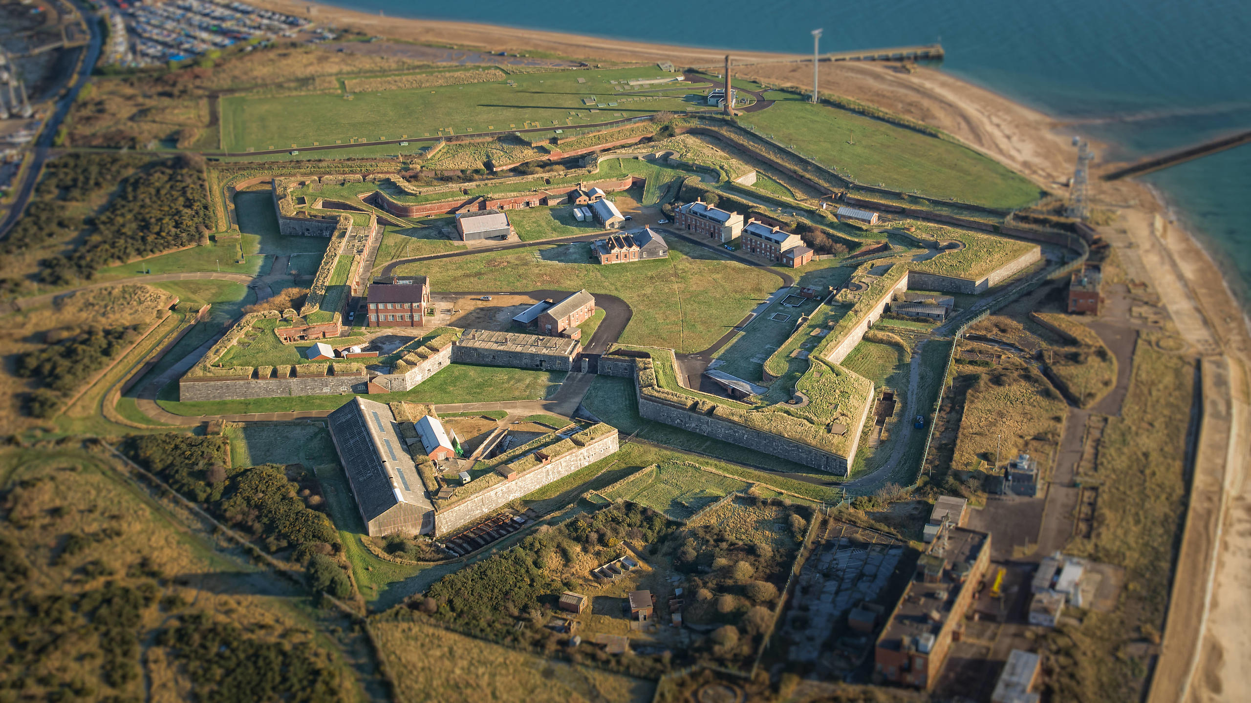 Fort Cumberland from the Air