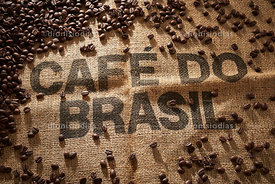 I would draw from Brazilian coffee wrapped. in coffee beans