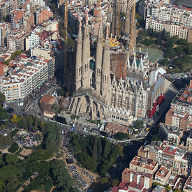 Jordi Todó: An Artist's Tour of Barcelona aerial photos