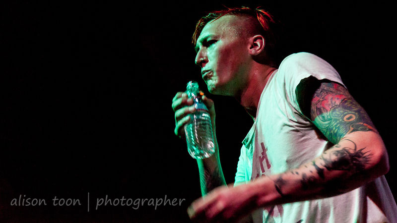 Shawn Walker, vocals, The White Noise