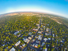 Aerial View of Chico #2