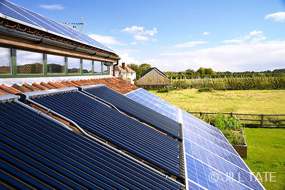 Solar PV & Thermal Panels, Melton Mowbray | Client: SolarWorld