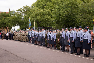 Armed Forces Day in Banbury 2015