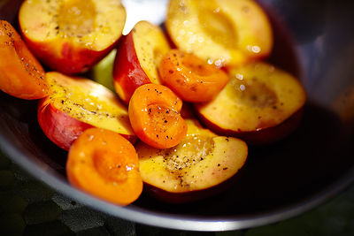 Sauted peach & apricot halves