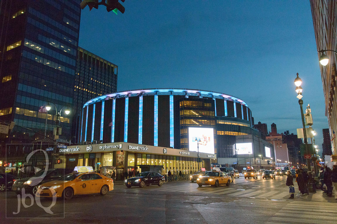 Madison Square Garden at Dusk