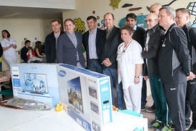 SEHA Final Four - charity event in children's hospital