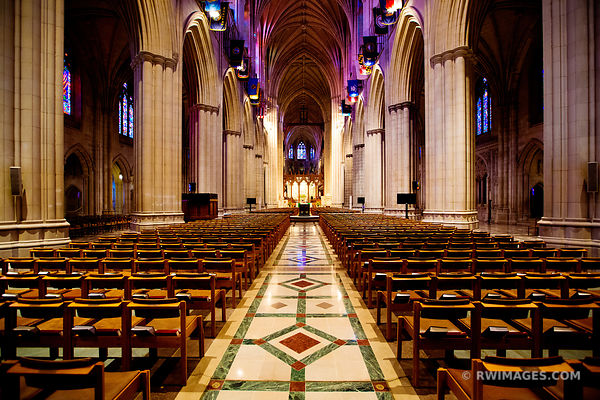 WASHINGTON NATIONAL CATHEDRAL INTERIOR WASHINGTON DC