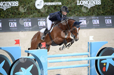 Jessica BROWN ,(AUS), EQUUS ECHO during Caixa Bank Trophy competition at CSIO5* Barcelona at Real Club de Polo, Barcelona - Spain