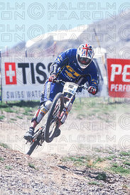 STEVE PEAT VARS, FRANCE. TISSOT MOUNTAIN BIKE WORLD CUP 2001