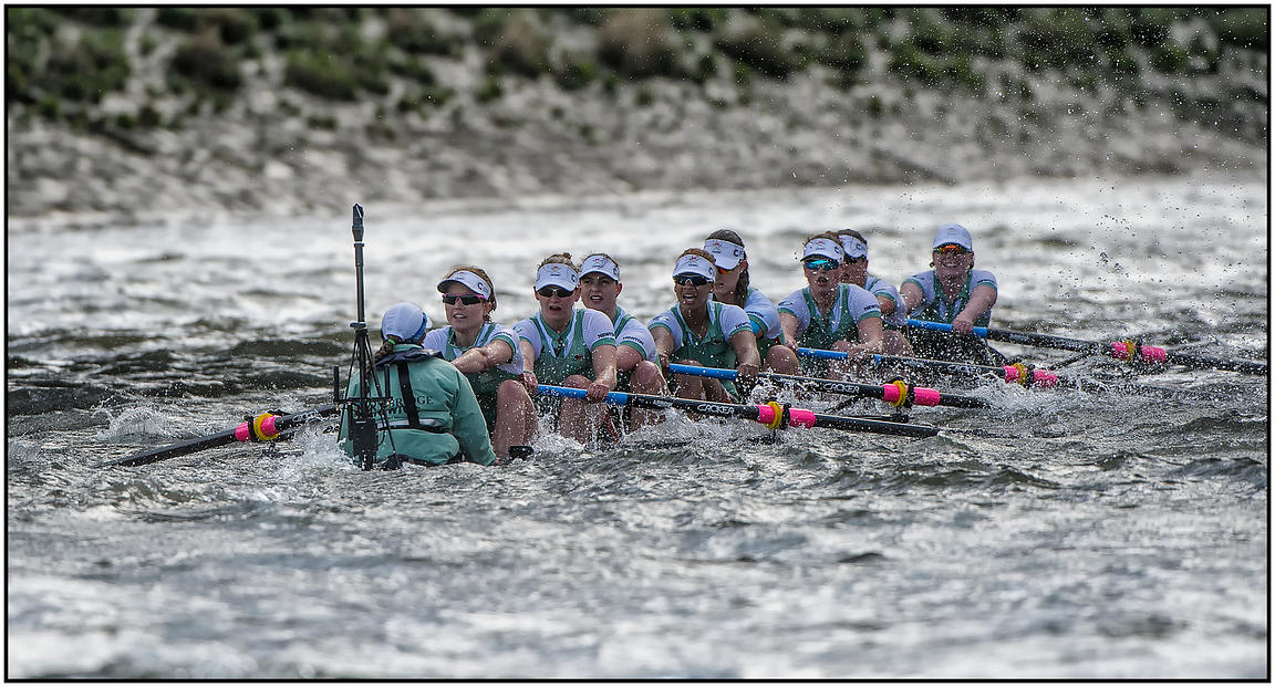 CUWBC BLUE BOAT CANCER UK BOAT RACES 2016