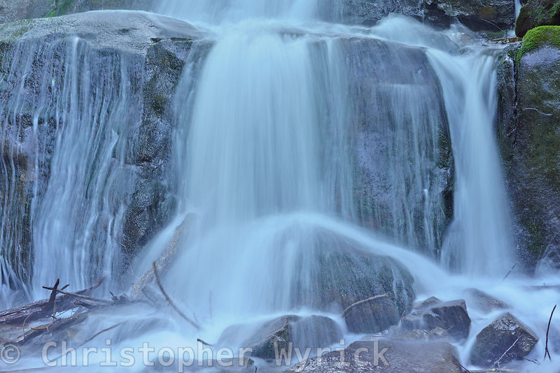 Another gorgeous shot of the lower section of Laurel Falls.