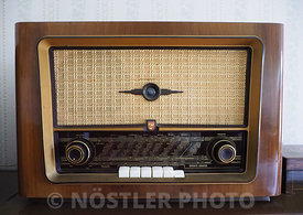 The preachers old radio