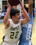 Iowa City West Boys Basketball vs Cedar Rapids Jefferson