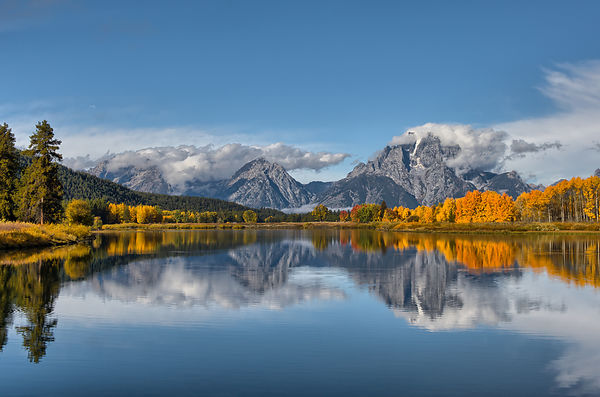 The Tetons in Autumn