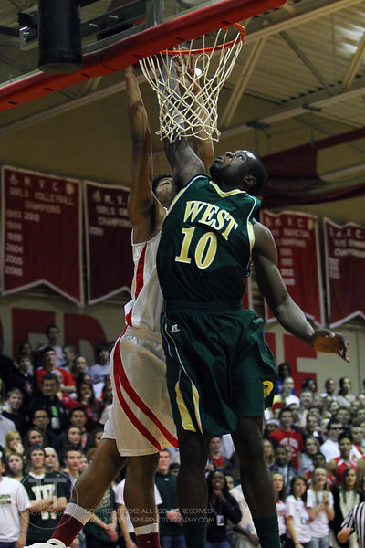 Iowa City West vs Iowa City High Boys Basketball 2/10/12