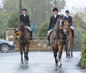 at the meet - The Cottesmore at Knossington 22/11