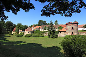 Town ramparts, Trebon, Czech Republic
