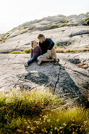 Danish father and daughter on Bornholm 3