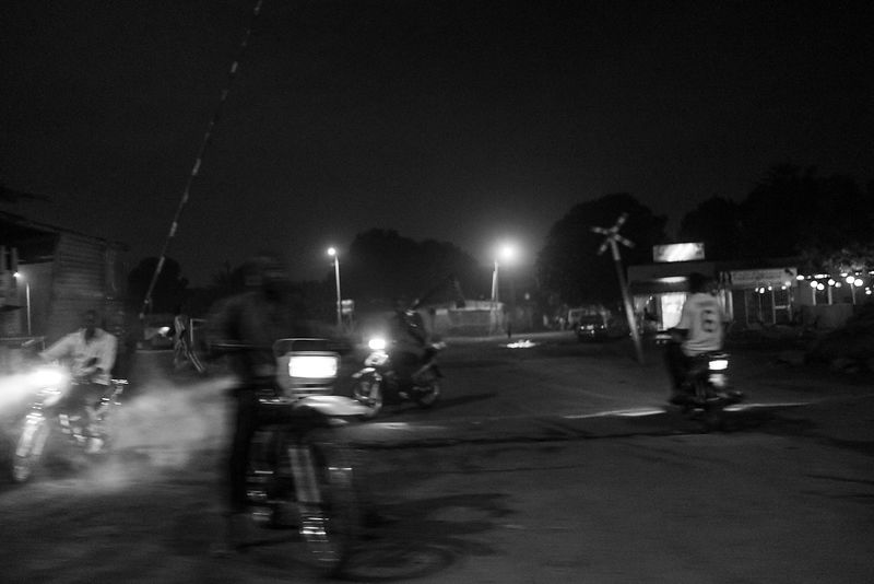 Night runs in Bamako