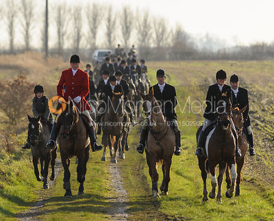 The Cottesmore Hunt at Whissendine 6/12 photos