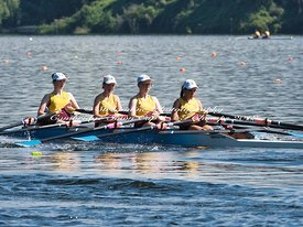 Taken during the Cambridge Town Cup and NI Championships 2018, Lake Karapiro, Cambridge, New Zealand; ©  Rob Bristow; Frame  - Taken on: Friday - 26/01/2018-  at 09:26.32
