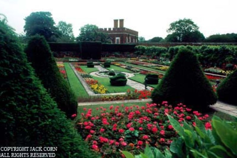 269 England, Henry Vlll's garden at Hampton Court