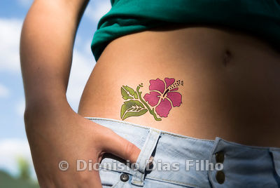 Flower Tattoo.