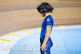 Junior Women Pursuit 1-2 Final. Canadian Track Championships (Jr/U17/Para), April 13, 2018