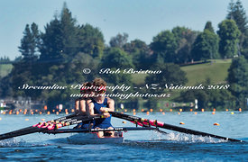 Taken during the National Championships 2018, Lake Karapiro, Cambridge, New Zealand; ©  Rob Bristow; Frame 0992 - Taken on: Friday - 16/02/2018-  at 09:01.07