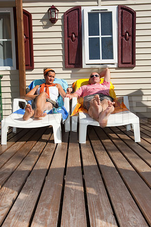 Photo de vacances en mobil-home
