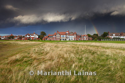 Clubhouse Royal Liverpool Golf Club