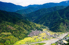bontoc, mountains province in philippines.