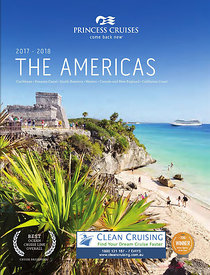 Princess Cruises the Americas brochure cover