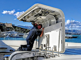 Superyacht engineers