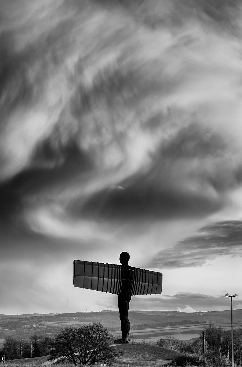 Angel of the North (B+W)