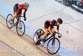 Junior Women Sprint 3-4 Final. Track O-Cup #2, Milton, On, March 28, 2015