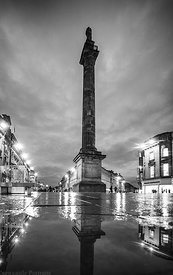 Greys Monument in Black & White