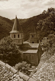 Abbaye Ste-Foy Conques Aveyron 08-06