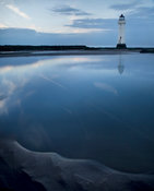 New Brighton Lighthouse at Dusk