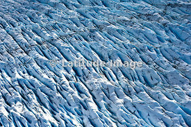 Pressure Ridges And Flow Patterns Of Kenai Mountain Glaciers