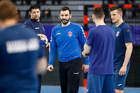 Rade Mijatovic of team Meshkov Brest training during the Final Tournament - Final Four - SEHA - Gazprom league, Skopje, 12.04.2018, Mandatory Credit ©SEHA/ Stanko Gruden