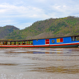 Boating the Mekong River photos