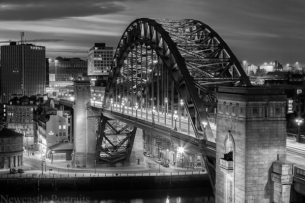 Black & White newcastle prints