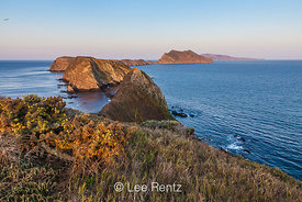 View from Inspiration Point of Anacapa Island in the Channel Islands
