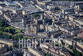 Aerial Photography Taken In and Around Bath-Grand Parade