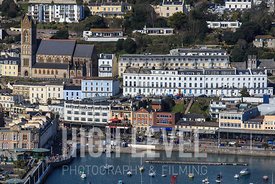 Aerial Photography Taken In and Around Torquay-St John's Church